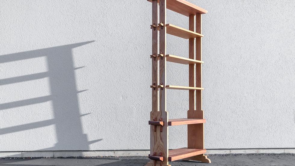 Large Japanese Style Bookshelf Plans