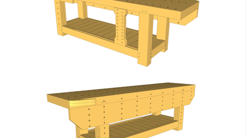 """""""The Perfect Workbench"""" Plans"""
