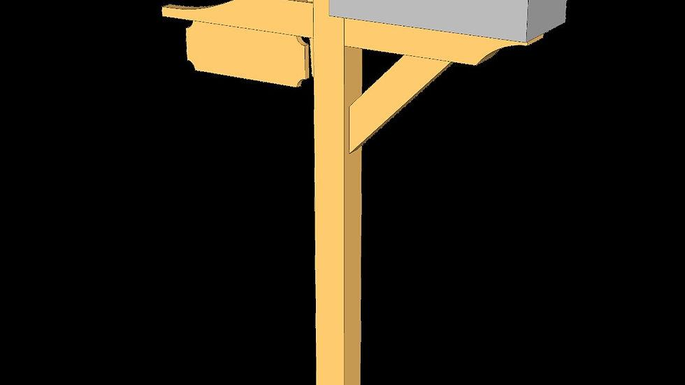 Timber Frame Mailbox Plans
