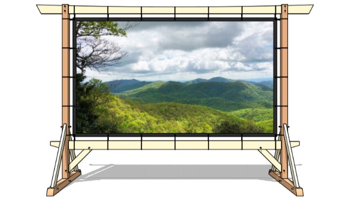 Outdoor Movie Screen Plans