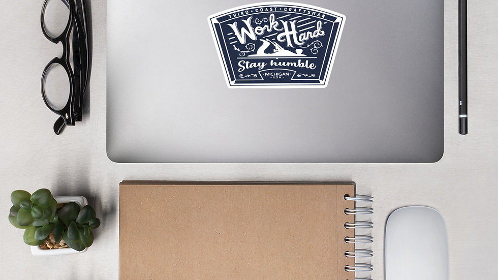 Work Hard - Stay Humble Sticker