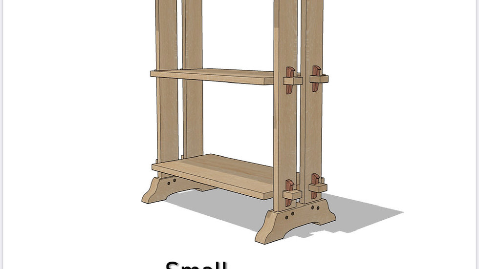 Small Japanese Style Bookshelf Plans