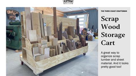 Mobile Lumber Storage Cart Plans