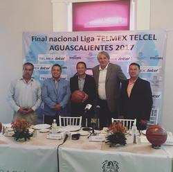 Presentación de la final nacional en Aguascalientes del 9 al 12 de noviembre