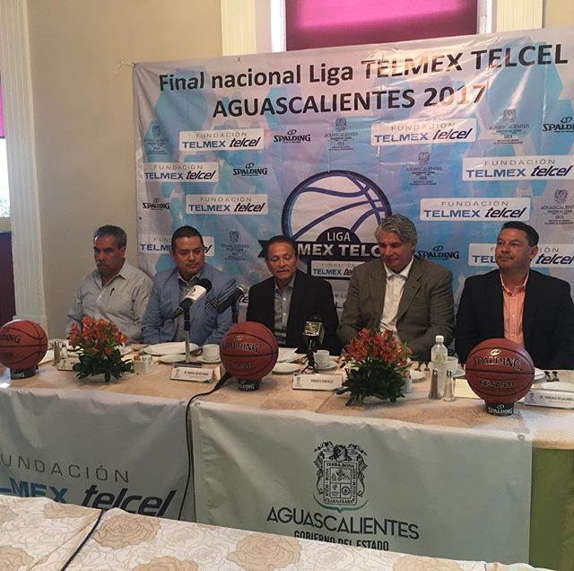 Presentación de la final nacional en Aguascalientes del 9-12 de noviembre