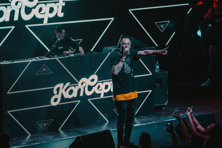 Koncept at Exchange in Los Angeles, CA.