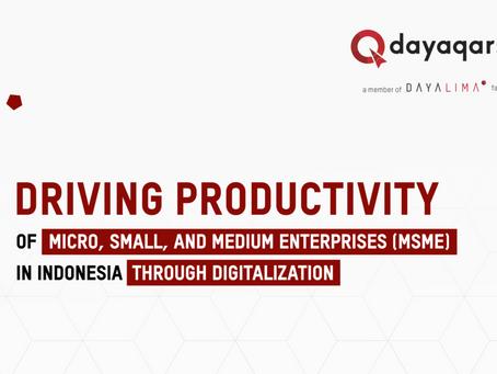 Tren Digitalisasi Terkait Produktivitas UKM di Indonesia