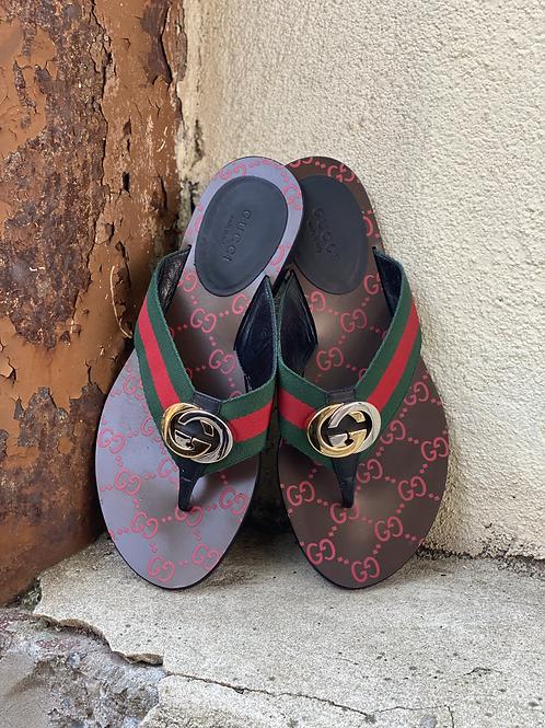 Gucci Kika thong sandal