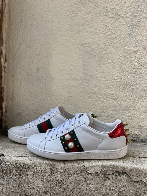 Gucci Ace studded sneaker