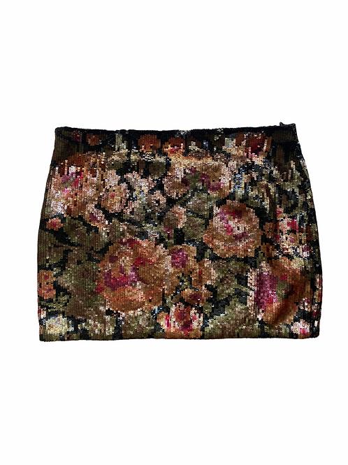 Haute Hippie sequin skirt
