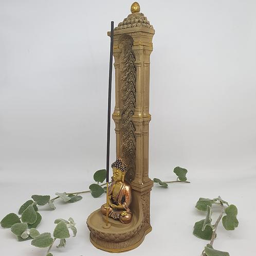 Buddha Incense Holder Gold