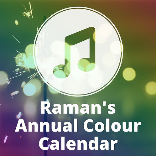 Raman's Annual Colour Calendar for 2021 MP3