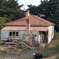 replacing all unsalvageable weatherboard