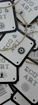 Eco & Art Tags