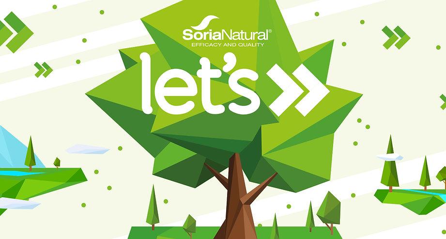 Soria Natural Let's Banner