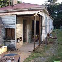 Opening the once enclosed back entrance