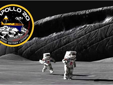 """1.6.3  Тайна """" Аполлона 20"""" - русские были на Луне!"""