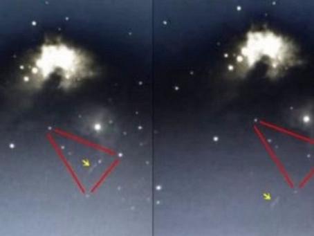 1. 6  Пояс Ориона и корабль инопланетян, межзвездный зонд Оумуамуа и Х-образный звездолет