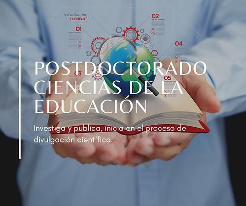 postdoctorado en ciencias de la educacio