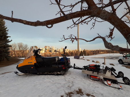 March 3rd Update:  grooming done, Bow Trail cart path re-route is in