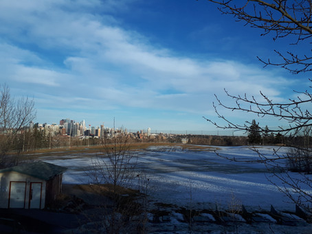March 13 Update: Skiing is done, spring has hit Calgary!