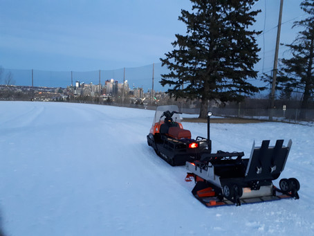 January 13 Update: Debris-clearing help needed; driving range grooming and track setting......