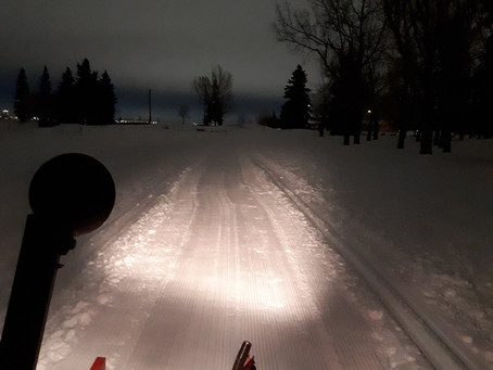 January 27 Update: corduroy and a skiff of new snow!