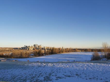 November 28th Update: Shaganappi Golf Course