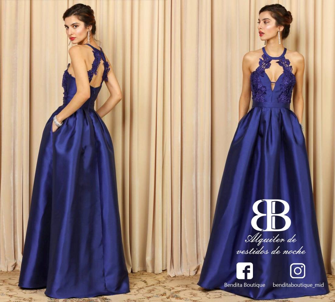 Diseño De Imagen Alquiler De Vestidos De Noche