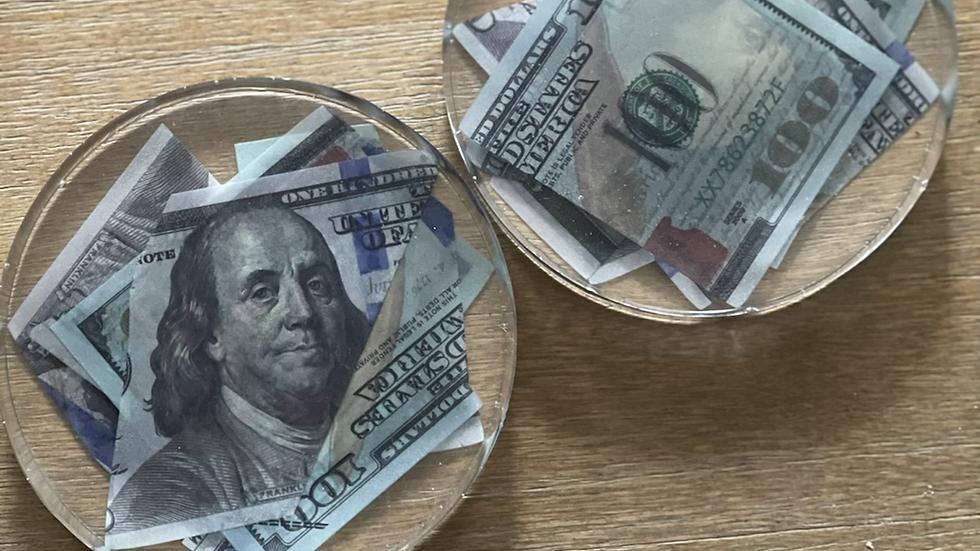 Money coasters