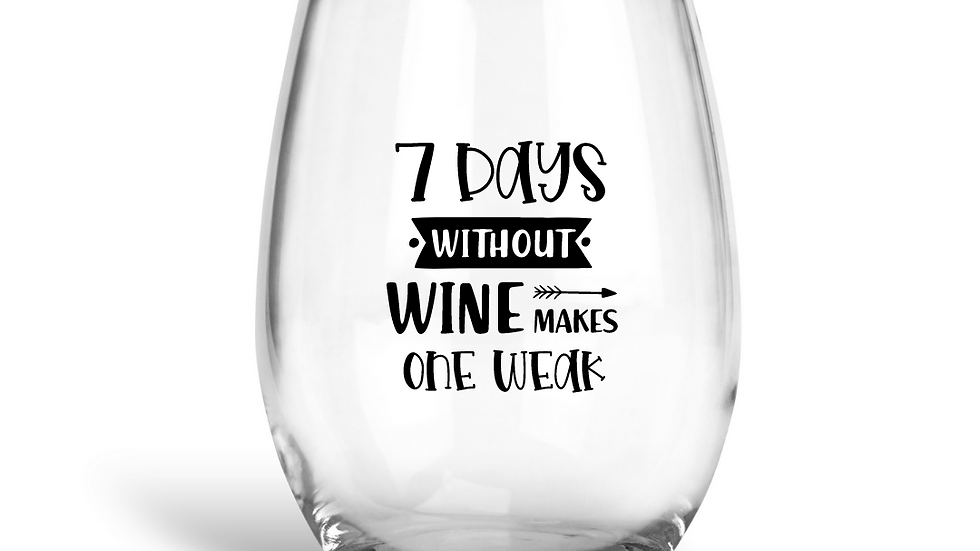 Stemless Wine Cups