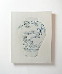 Tao, 83 x 100cm, Ceramic, 2013
