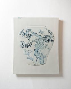 Tao, 83 x 102cm, Ceramic, 2013
