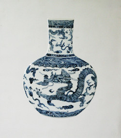Tao, 73 x 82cm, Ceramic, 2015