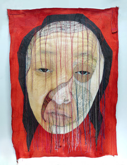 rag face #18007-1 2018 Sewing on Fabric