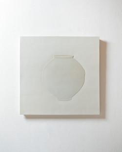 Tao, 85 x 84cm, Ceramic, 2013