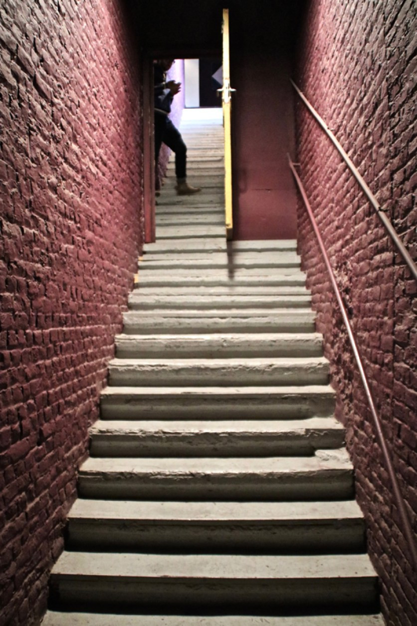 The Loft, staircase, © Servais collection / the artists Comment View full size 533×800