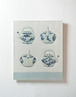 Tao, 83 x 100.3cm, Ceramic, 2013