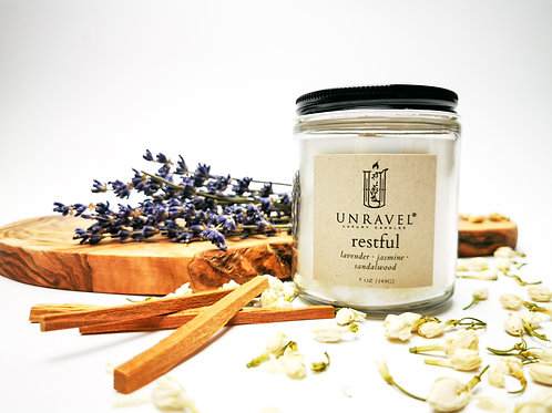 Restful Soy Candle 7 oz.