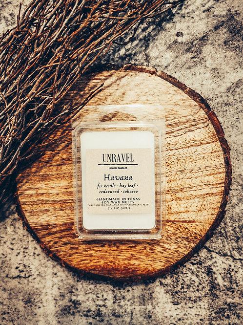 Havana Wax Melt 2.4 oz.