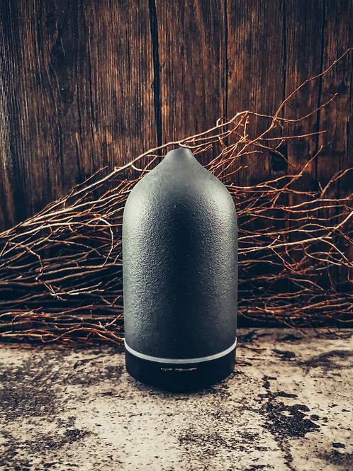 Ceramic Fragrance Oil Diffuser - Black Stone