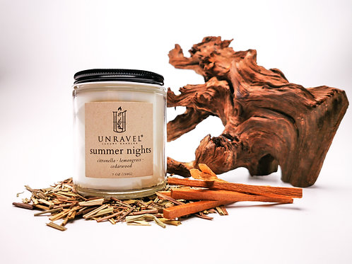 Summer Nights Soy Candle 7oz.