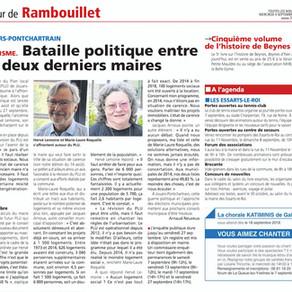 'Bataille politique entre les deux derniers maires'