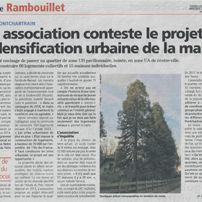 """On parle de nous dans """"Les Nouvelles de Rambouillet"""""""