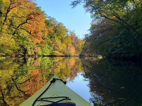 Floating the Rancocas Creek with Bill Magee, and the Music of Gershwin