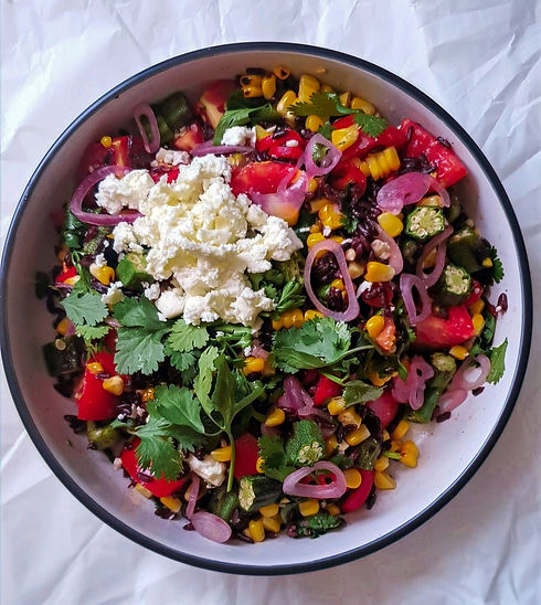 Mexican-Inspired Black Rice Salad