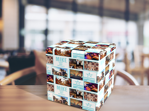 Personalised Photo Wrapping Paper - Special Birthday; 18th, 21st, 40th, 50th, 60