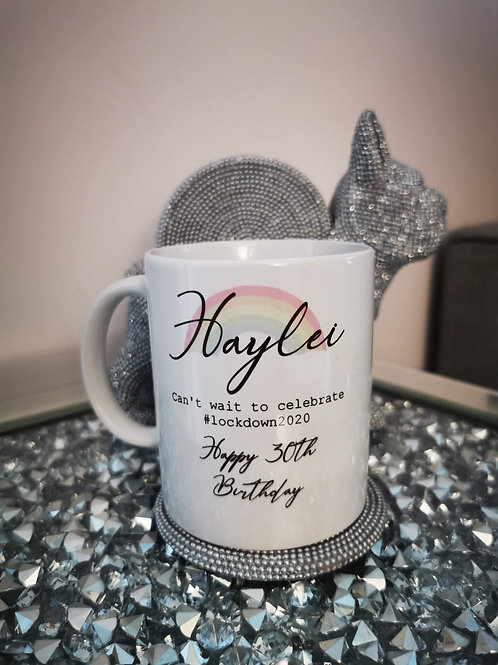 Personalised Birthday Mugs