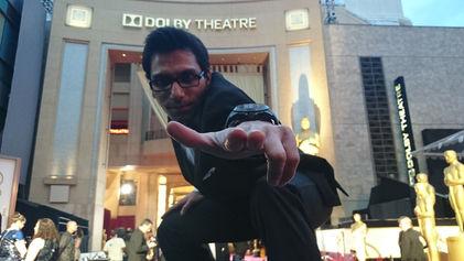 Faraz Javed ath the Oscars