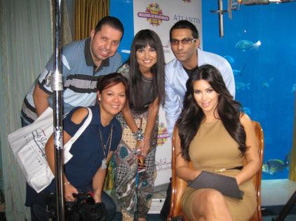 Faraz Javed with Kim Kardashian